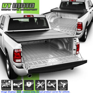 2009 2018 Dodge Ram 1500 Crew Cab 5 7ft Short Bed Hard Tri Fold Tonneau Cover