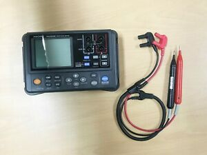 Hioki Rm3548 Resistance Meter With 9461 Pin Type Probe