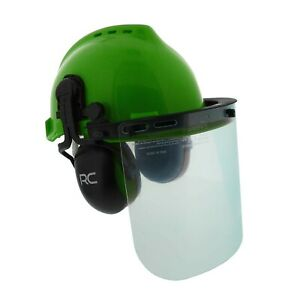 Felled Forestry Safety Helmet Vented Forestry Hard Hat Mesh plastic Sa New