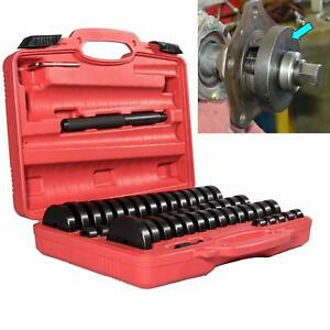 52pcs Dent Puller W Slide Hammer Auto Body Truck Repair Tool Kit Hd