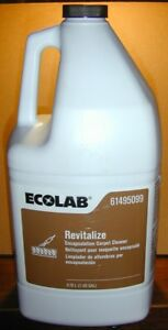new 1 Gallon ecolab Revitalize Encapsulation Carpet Cleaner 61495099