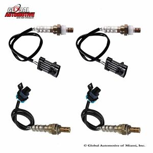 Set Of 4 New Oxygen O2 Sensor 96 97 Chevrolet Camaro Pontiac Firebird V8 5 7l