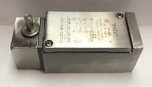 Honeywell Microswitch Ls2a4l Heavy Duty Stainless Steel Limit Switch unused