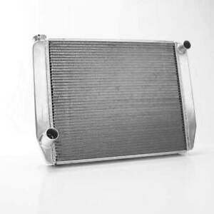Griffin 1 56222 x Universal Fit Radiator 26 X 19 2 row Crossflow Ford Style