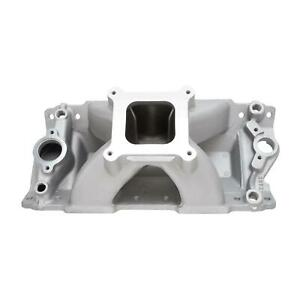 Edelbrock 2892 Super Victor Series Intake Manifold Aluminum Chevy