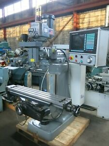 Hardinge Bridgeport Ez Vision 9x48 3 Axis Cnc Milling Machine