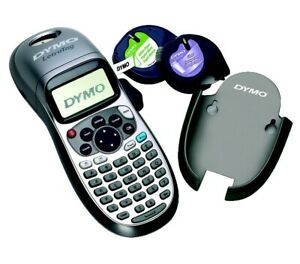 Dymo Letratag Plus 2 line Personal Label Maker 8 38x2 63x3 13in silver blue