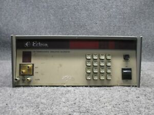 Ectron 1120 Thermocouple Precision Voltage Control Simulator Calibrator tested