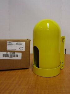 Brady 6 1 2 X 3 1 8 X 11 Un Yellow Locking Cylinder Cap Lock Included New