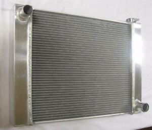 Chevy Aluminum Universal Radiator 26 X 19 X 2 2 Gm Outlets Hot Street Rod