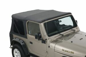 14010235 King Premium Replacement Soft Top Without Upper Doors Jeep Wrangler Tj