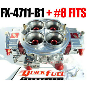 Quick Fuel Fx 4711 b1 4500 Flange 1150 Cfm Gas Blower Supercharger Carburetor