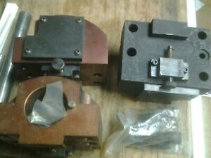 2 Cnc Tool Block 64 Mm X 102 Mm Cincinnati Offset Bhp 45 Global Cnc Boring