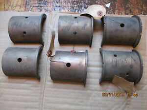 L Or La Case Tractor Nos Main Bearings Semi full Set New Old Stock