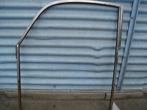 Porsche 356a Door Window Glass Vent Frame Left Coupe 356 A