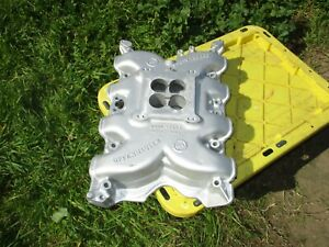 Offenhauser 360 Dual Port Ford 351 C Cleveland Intake Manifold Offy For 2v Heads