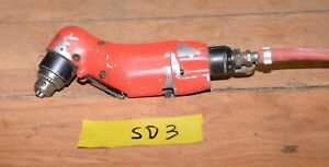 Vintage Sioux Pneumatic Air Craft Quality Drill 3000 Rpm Mechanic Machinist Sd3