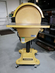 Powermatic DS-203 20 Inch 1720rpm Disc Sander wCasters 3HP 230v 3 Phase