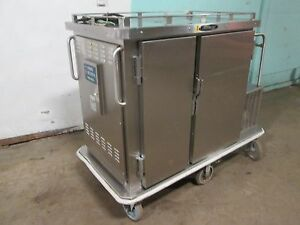 servolift Eastern Commercial Refrigerated heated Mobile Food Delivery Cart