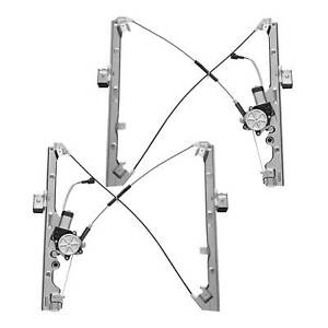 Front Left right Power Window Regulator W Motor Fit Chevy gmc cadillac Multi