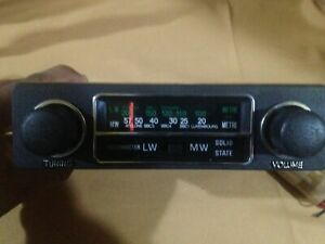 Vintage Radio Classic Car Moormater The Product Was A Long Time Store