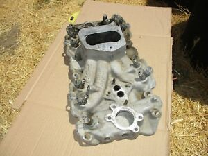 Edelbrock Performer Multi point Efi Intake Manifold 3562 Chevy 454 Truck Efi