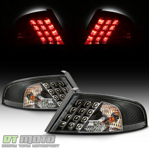 Black 01 06 Dodge Stratus 4dr Led Perform Tail Lights Lamps Left Right