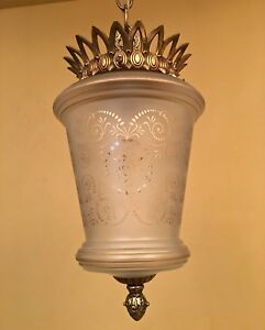 Vintage Lighting Hollywood Regency Pendant More Available