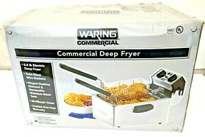 New Waring Commercial Countertop Electric Deep Fryer 208v Wdf75b