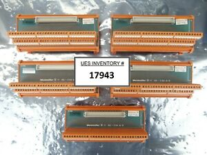 Weidmuller 117816 Plc Interface Unit Rs c64 B s Reseller Lot Of 5 Used Working