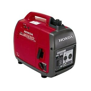 Honda Eu2000i Companion Super Quiet 2000 Watt Portable Generator With Inverter
