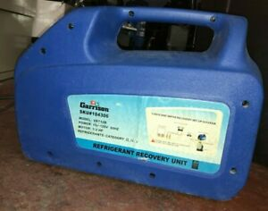 Garrison Refrigerant Recovery Unit With Shut Off Model Vrr12b