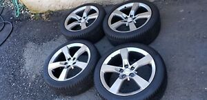 10 15 Camaro Ss 20 Inch Rims Wheels And Pirelli Tires Set Of Four Gunmetal