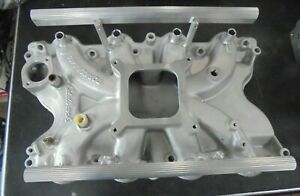 Bbf Ford 460 Edelbrock Torker Ii Intake 5066 Modified For Electric Fuel Inject