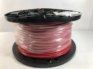 Southwire 500 8str Red Thhn Stranded Building Wire 8 Awg 500ft Spool New
