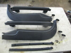 1998 Jeep Tj Wrangler Soft Top Door Surrounds With Bolts Pair 97 06