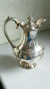 Lovely Antique Silver Plated Coffee Water Pot 1900