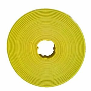6 X 300 Yellow Heavy Duty Lay Flat Pvc Hose Parker 7545 cut Lengths Offered