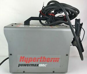 Hypertherm Powermax 190c 110v Plasma Cutter Cutting Machine With Torch