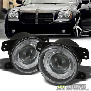 2005 2007 Magnum Chrysler 300 Pt Cruiser Wrangler Halo Projector Fog Lights Lamp