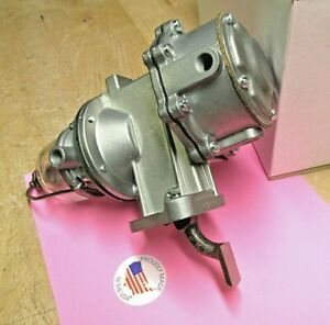 1938 To 1950 Chrysler Dodge Plymouth Modern Rebuilt Double Action Fuel Pump Usa