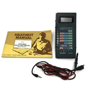 Heathkit Model Im 2215 Digital Multimeter Power Supply Original Manual Vintage
