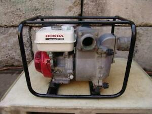 Honda Wt30x 3 Inch Trash Mud Pump With Honda Motor Great Shape