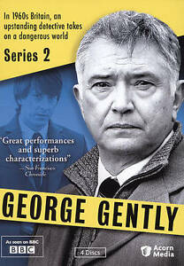 4 DVD George Gently Series 2: Martin Shaw Lee Ingleby McInnery Andrew Lee Potts