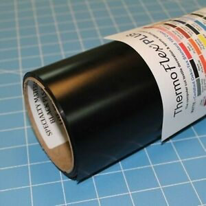 Thermoflex Plus 15 X 15 Roll Black Heat Transfer Vinyl New