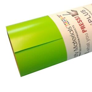 Thermoflex Plus 15 X 10 Roll Apple Green Heat Transfer Vinyl By Coaches New