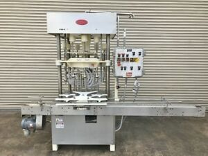 Mrm 12 Valve Rotary Explosion Proof Bottle Filler Liquid Filling Machinery