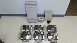 Nortel Norstar Mics Phone System 6 T7316 Phones Caller Id Startalk Flash Vm