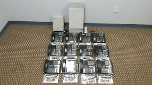 Nortel Mics Office Phone System Package 12 M7310 4 Lines Caller Id Voicemail