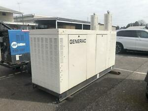 Generac 150kw Commerical Standby Generator 120 208v 3ph Natural Gas 2010